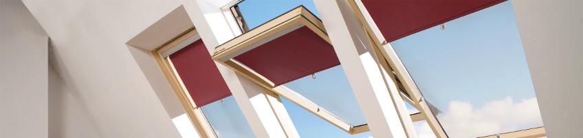 Okna dachowe o podwyższonej osi obrotu